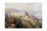 Heidelburg  the Palace of the Electors of the Palatinate  1832