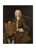 Portrait of John  Lord Henry (1696-1743)  Three-Quarter-Length  Seated in a Brown Ermine Lined…