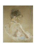 Young Girl with Naked Shoulders; Jeune Fille Aux Epaules Nues  1885
