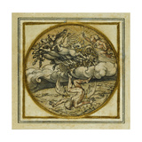The Fall of Icarus - Design for a Pendant or Hat Badge  C1532-43