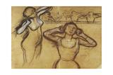Study of a Dancer; Etude De Danseuse