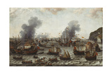 The Battle of Gibraltar  Between the Dutch and Spanish Fleets  25th April 1607  1639