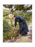 Lady in a Garden  1887