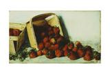 Basket of Strawberries  1883