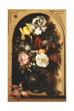 Flowers in a Vase Inside a Niche  1621
