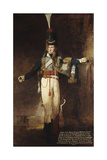 Portrait of Captain  Later Lieutenent Colonel  Henry Francis Mellish (1782-1817)  Full-Length  in…