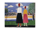 Two Figures in a Landscape  C1931-32