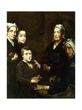 The Breton Family; La Famille Bretonne