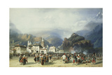The War in Italy: Susa  Mont Cenis  Bivouac with French Troops  1859