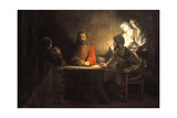 Supper at Emmaus  1648  by Rembrandt Van Rijn (1606-1669)
