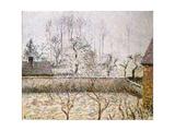 Landscape with Frost and Mist  Eragny; Paysage  Givre Et Brume  Eragny