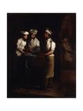The Three Cooks; Les Trois Cuisiniers