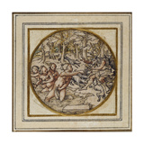 Diana and Actaeon - Design for a Pendant or Hat Badge  C1532-43