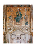 Palace of the Normans Byzantine Mosaics at the Palatine Chapel Christ with Saint Peter and Paul…