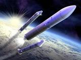 Ariane 5 Launch of Envisat  Artwork