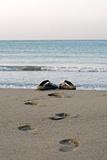 Sandals on a Beach  Spain