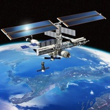 ENEIDE Mission To the ISS  Artwork