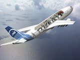 Zero-G Airbus Aircraft  Artwork
