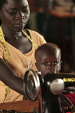 Working Mother And Child  Uganda