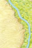 Nile Pyramids  Artwork