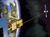 SPOT 4 And Artemis Satellites  Artwork