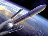 Ariane 5 Rocket Launch  Artwork