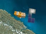 SPOT 4 Satellite  Artwork