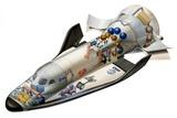 Hermes Space Shuttle  Artwork