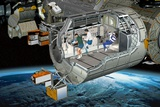 Columbus Module of the ISS  Artwork