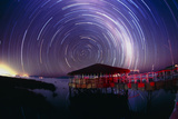 Star Trails In the Southern Night Sky