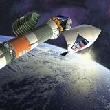 Mars Express Launch  Artwork