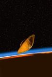 Huygens Probe At Titan  Artwork