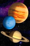 Gas Giant Planets  Artwork