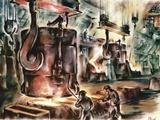 Oberhausen Steelworks  Artwork