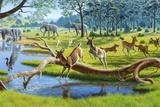 Pleistocene Animals  Artwork