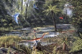 Cretaceous Life  Artwork