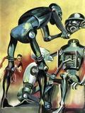 Robot Science-fiction Artwork
