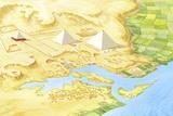 Giza Pyramids  Artwork