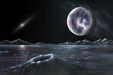Pluto Seen From Charon  Artwork