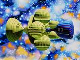 Artwork of Daedalus Starship