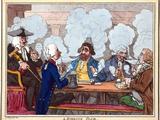 Smoking Club  18th Century Artwork