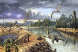 Early Cretaceous Life  Artwork