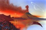 Alien Landscape  Artwork