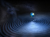 Earth And Gravity Waves  Artwork