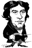 Michael Faraday  Caricature
