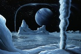 Ice Volcanoes on Triton  Artwork