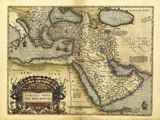 Ortelius's Map of Ottoman Empire  1570