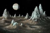 Ice Spires on Callisto  Artwork