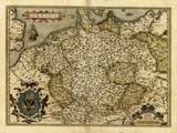 Ortelius's Map of Germany  1570