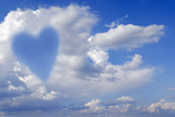 Heart Shape In Clouds  Conceptual Image